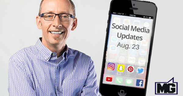 Recent Social Media Updates Through August