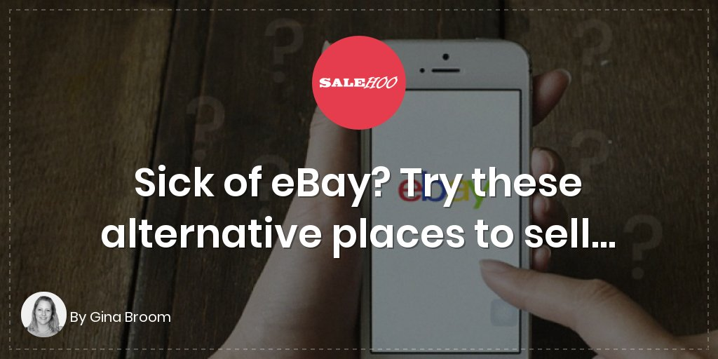 Sick of eBay? Try these alternative places to sell…