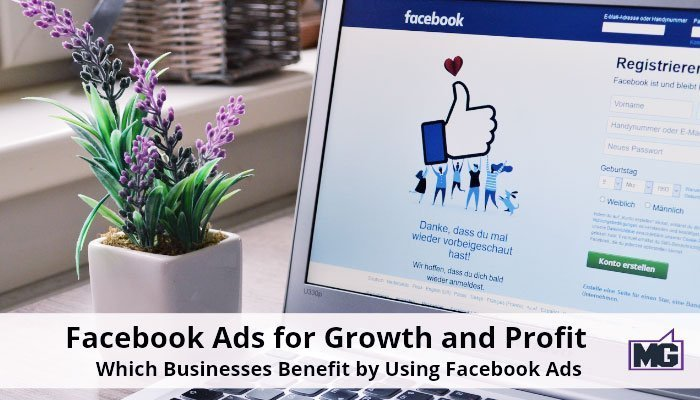 Facebook Ads for Growth and Profit – Which Businesses Benefit by Using Facebook Ads