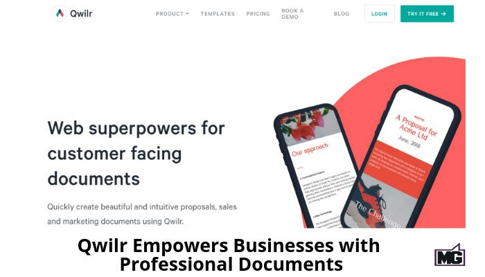Qwilr Empowers Businesses with Professional Documents
