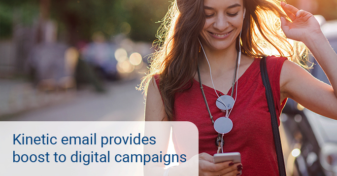 Kinetic email provides much – needed boost to marketing campaigns