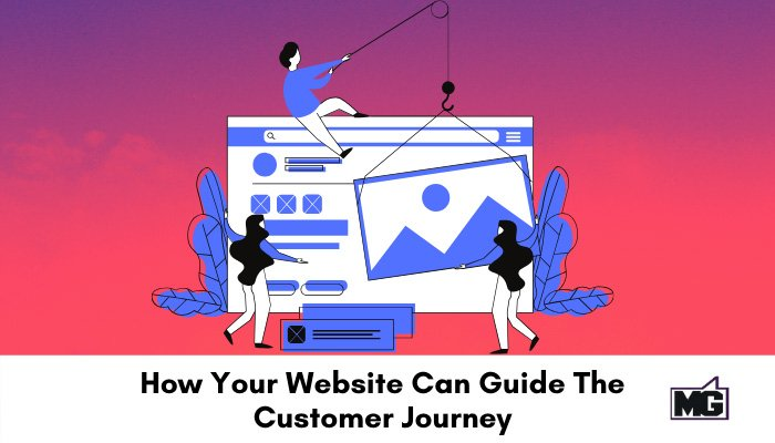 How Your Website Can Guide The Customer Journey