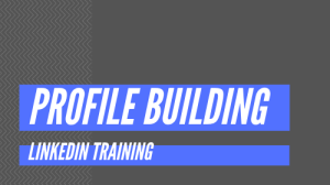 LinkedIn Training - Linkedin Profile Building