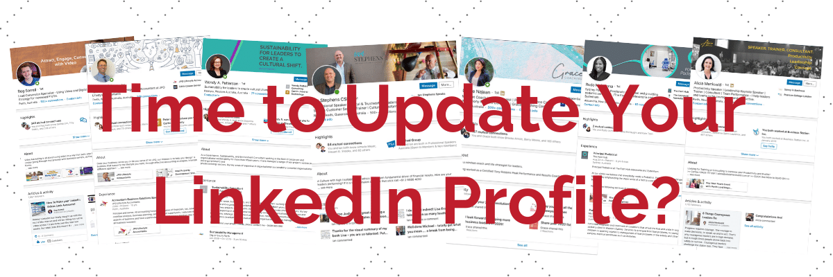 Time to update your LinkedIn Profile?