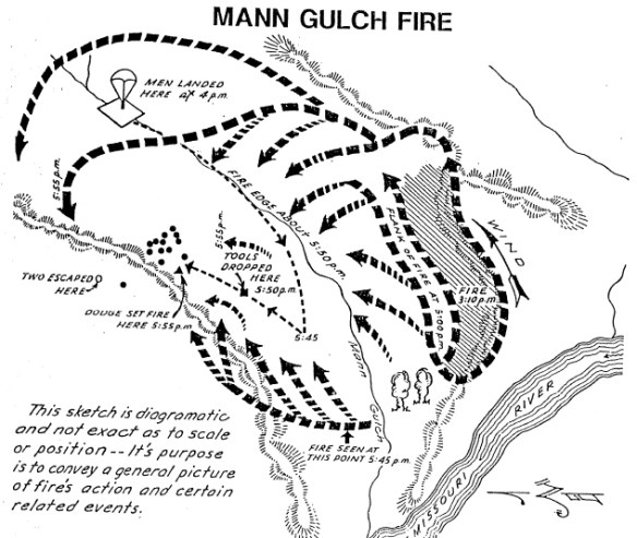Mann Gulch Fire 64 Years Ago Today Wildfire Today