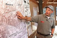 Bill Molumby, as Deputy IC on the Lincoln Complex in Montana, Aug. 20, 2003