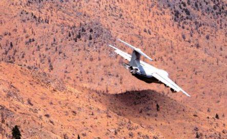 BAe-146 air tanker test