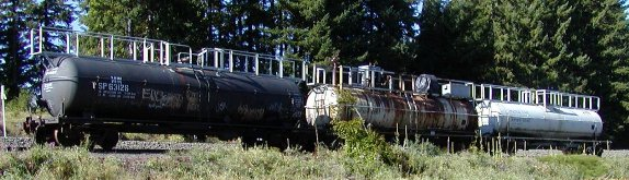 water cars for firefighting train