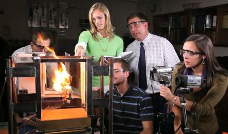 BYU fire research