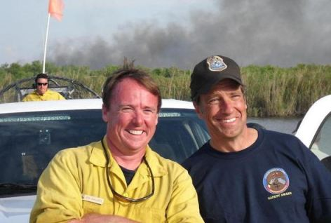 Jon Wallace and Mike Rowe of Dirty Jobs