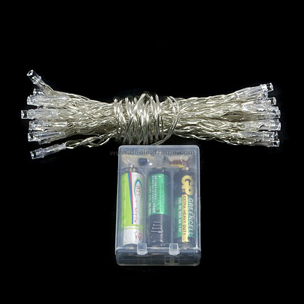 Battery powered LED Christmas lights for camping? - Battery Powered LED Christmas Lights For Camping? - Wildfire Today