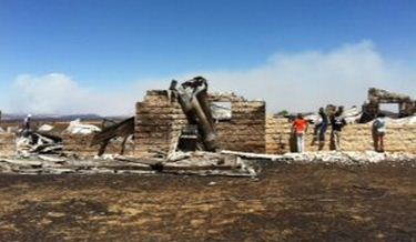 Fort Davis home burned in wildfire