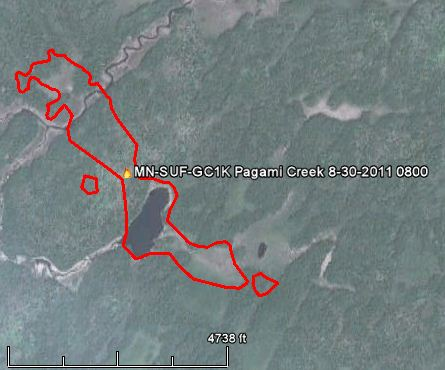 Pagami Creek Fire Map.Minnesota Pagami Creek Fire Mapped At 100 000 Acres Evacuations