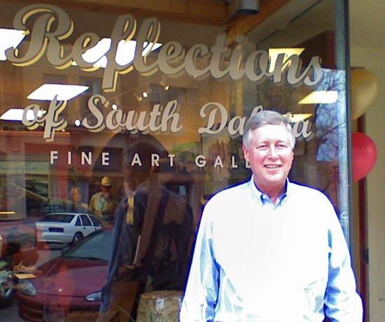 Joe Lowe at gallery