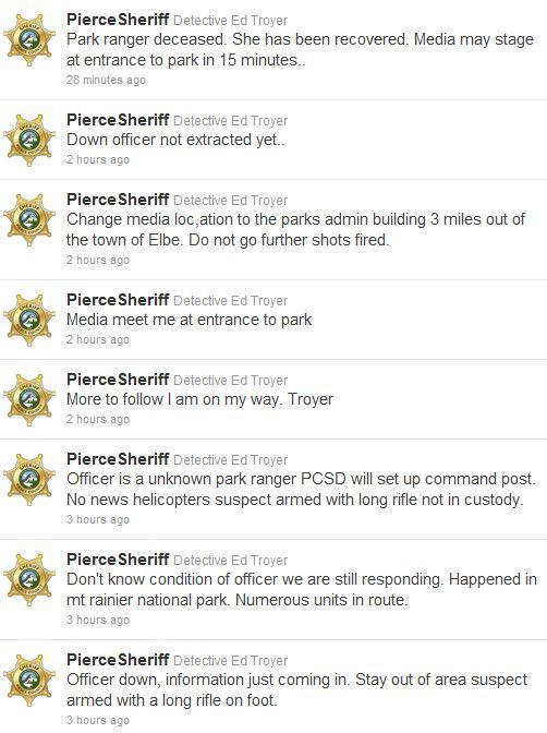 Pierce Sheriff tweets