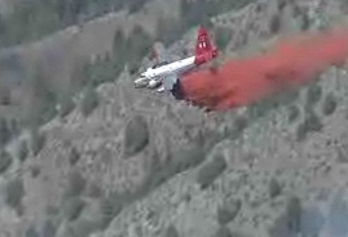Tanker 44 drop 1231 pm 3-27-2012