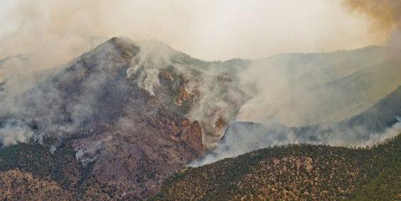 Little Bear Fire - June 1, 2012