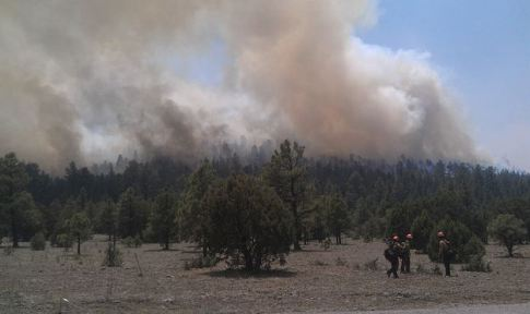 Whitewater-Baldy fire, May 28, 2012