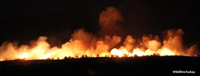 Fire West of Cascade