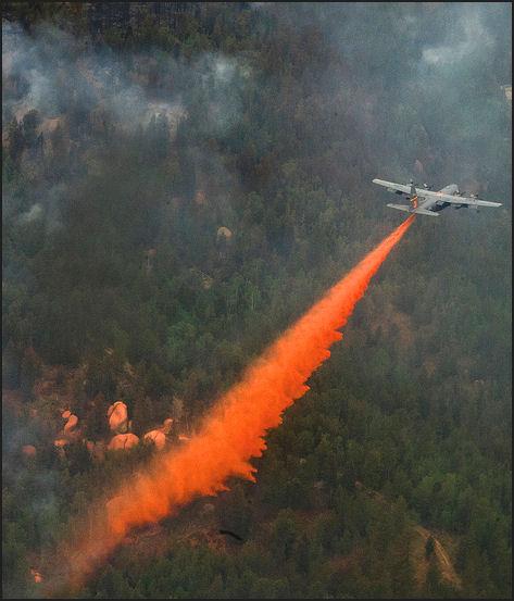 Waldo Canyon Fire 06/27/12  ~ USAF photo by Staff Sgt. Stephany D. Richards