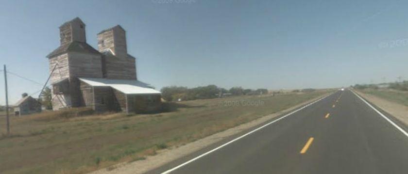 Grain elevator, Bucyrus, ND