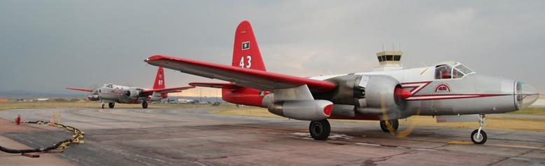 Air tankers at Rapid City