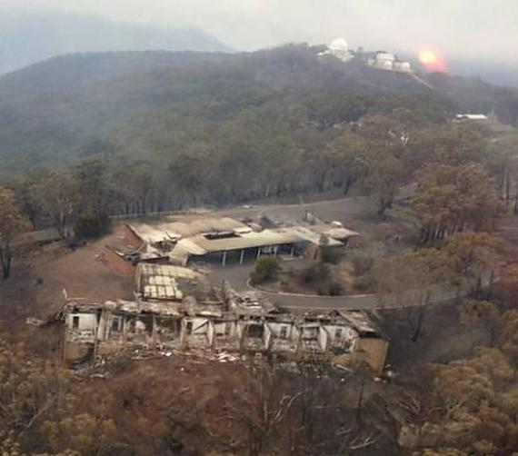 Siding Spring Observatory, after the fire