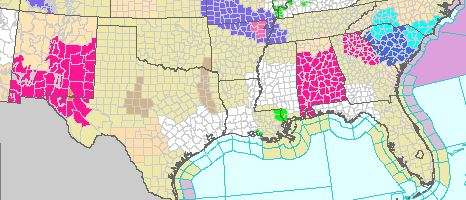 Red Flag Warnings, March 21, 2013
