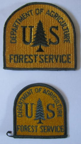 Old USFS patch
