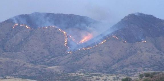 Soldier Basin Fire