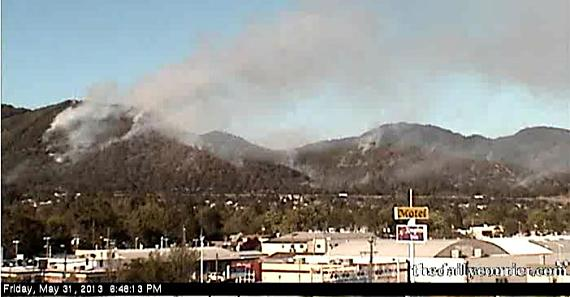 Live cam view of wildfire in Grants Pass - Wildfire Today