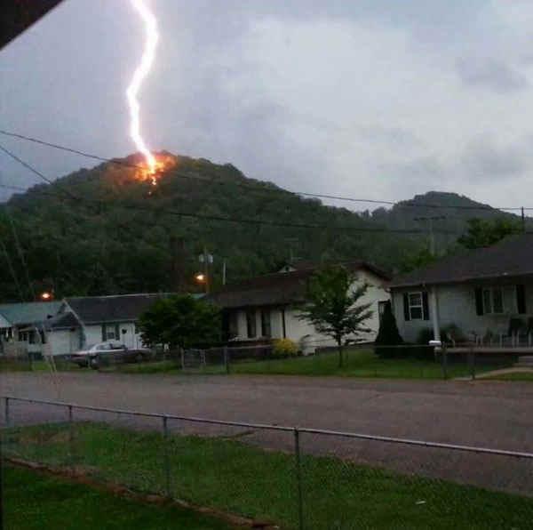 Lightning, Chapmanvill, WV