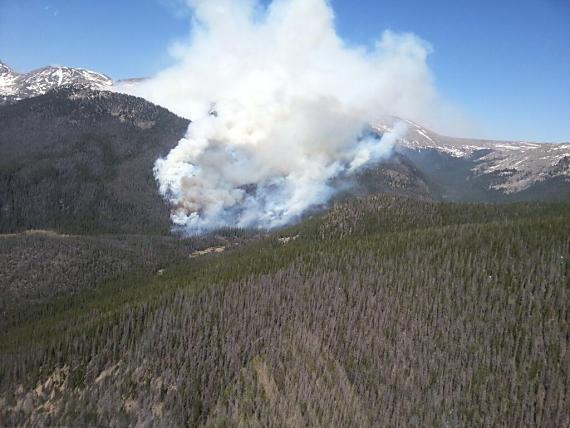 Big Meadow Fire June 11, 2013