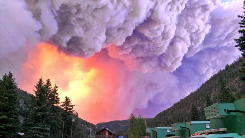 West Fork Fire, June 20, 2013
