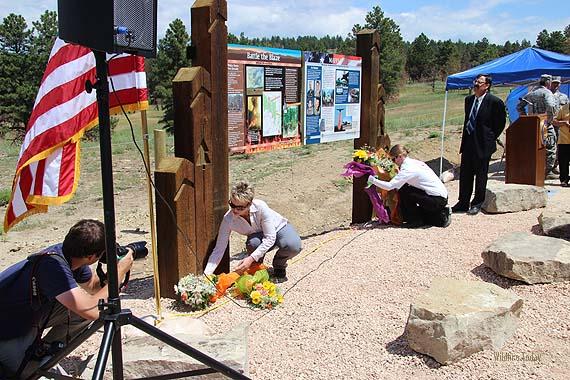 MAFFS 7 memorial dedication