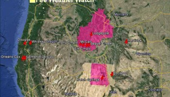 Wildfire Smoke And Fire Danger August And September - Us wildfires google map