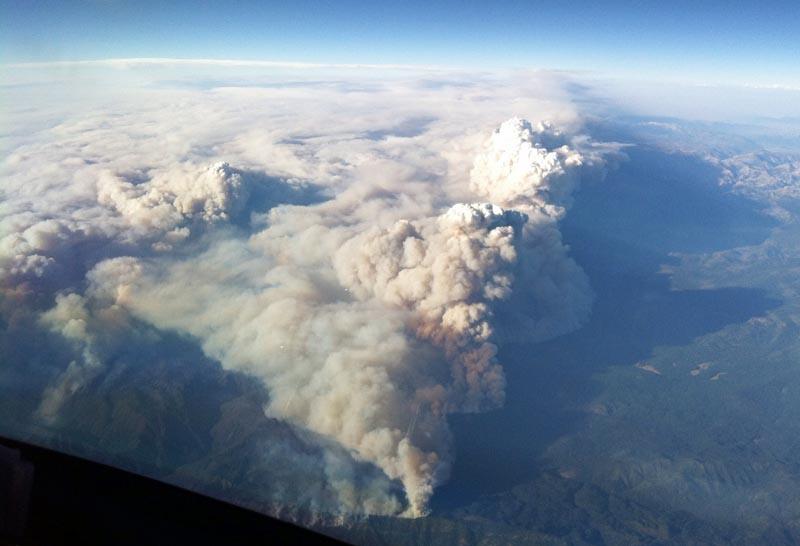 Rim Fire, August 22, 2013