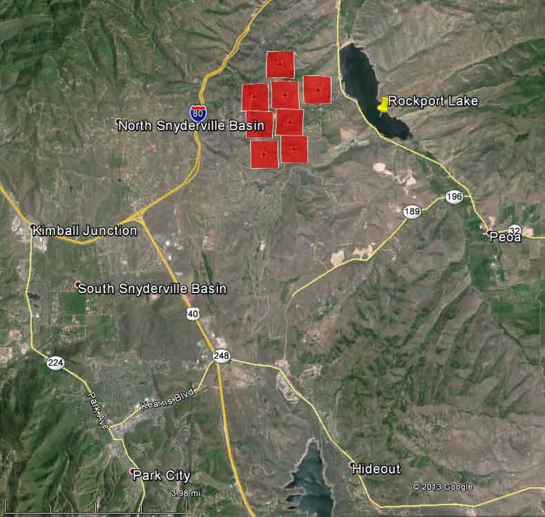 Utah: Rockport Fire Burns Structures