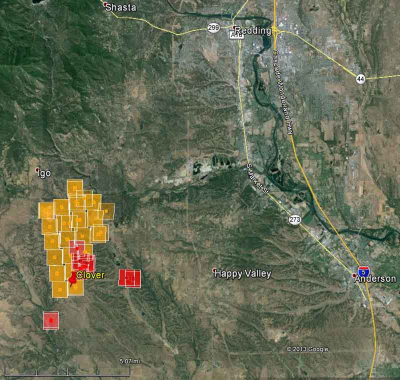 Igo Australia Map 2013.Map Of Clover Fire 355 Am Pdt September 10 2013 Wildfire Today