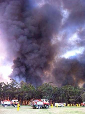 Springwood Fire