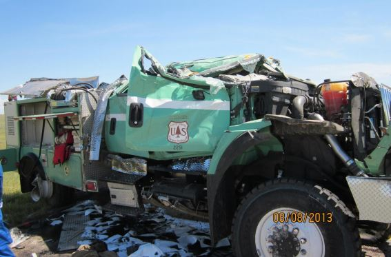 Fire vehicle rollovers - how serious a problem is it