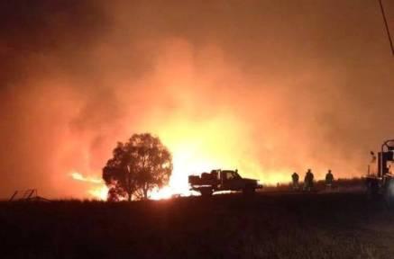 Fire near Wallan
