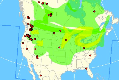 Map Of America Oregon.Smoke From Washington Oregon Fires Covers North America Wildfire
