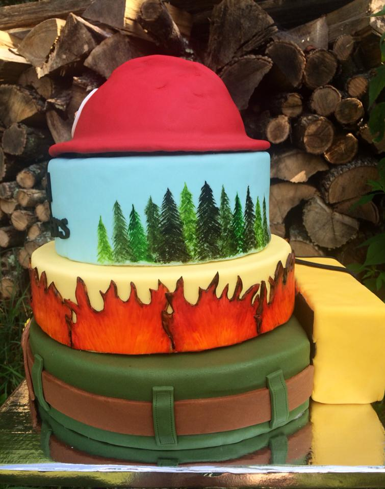 Cake Honors Wildland Firefighters Wildfire Today