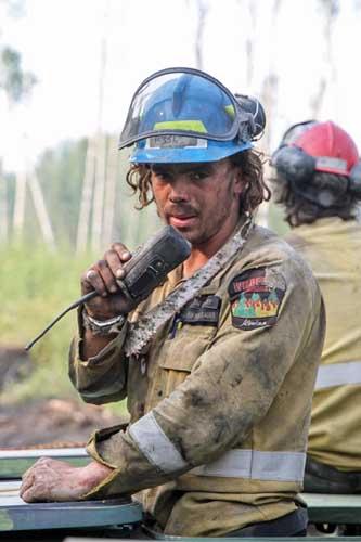 Alberta firefighter