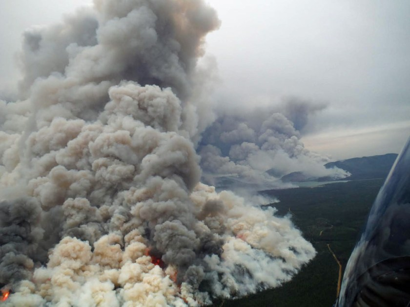 Coal River Fire, Yukon