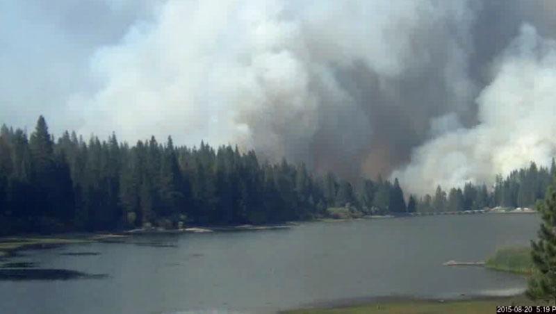 Rough Fire 519 pm Aug 20