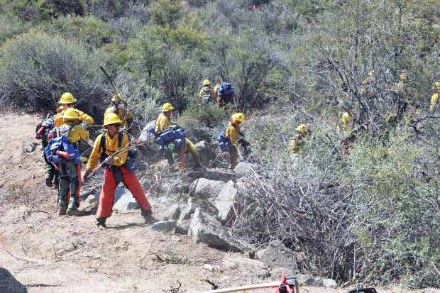 rough fire crew