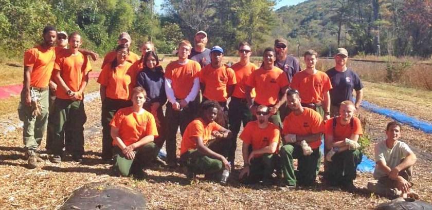 Davidson River Fire Crew 2015