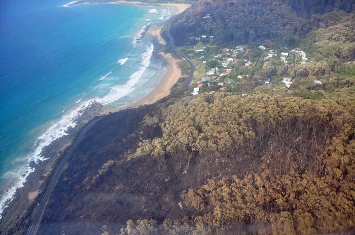 Lorne-Jamieson Track Bushfire